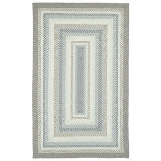 Malibu Indoor/ Outdoor Woven Gray Area Rug (8' x 11')