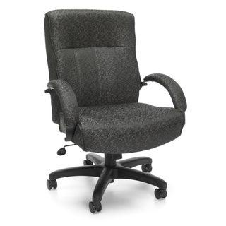 OFM Big & Tall  Black/ Grey Executive Chair