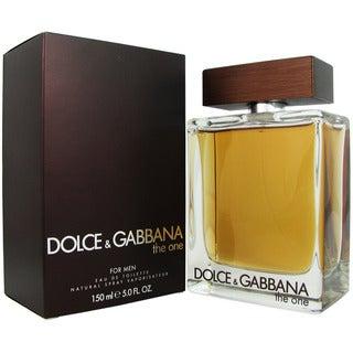 Dolce & Gabbana 'The One' Men's 4.37 ounce Eau de Toilette Spray