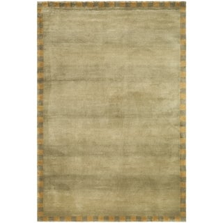 Safavieh Hand-knotted Tibetan Sage/ Green Wool Rug (8' x 10')