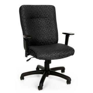 OFM Black/Grey Adjustable Office Chair