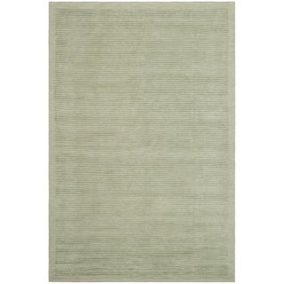 Safavieh Hand-knotted Tibetan Light Green Wool/ Silk Rug (9' x 12')