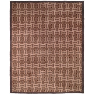 Safavieh Hand-knotted Tibetan Thatched Wool Area Rug (9' x 12')