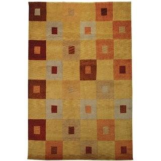 Safavieh Hand-knotted Vegetable Dye Tibetan Multi Wool Rug (9' x 12')
