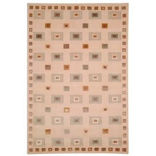 Safavieh Hand-knotted Tibetan Ivory Wool Area Rug (9' x 12')