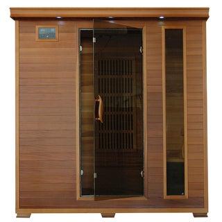 4-Person Cedar Carbon Infrared Sauna