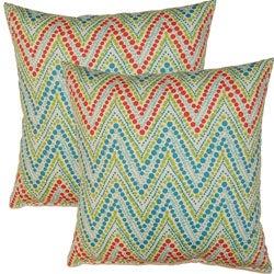 Trend Spotter Capri 17-inch Throw Pillows (Set of 2)