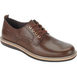 Men's Rockport Eastern Parkway Plain Toe Low Brown Leather
