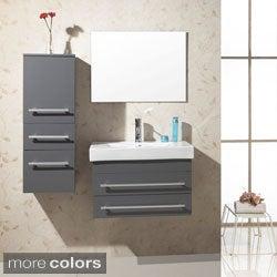 Virtu USA Antonio 28-inch Single Sink Bathroom Vanity Set
