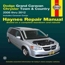 Dodge Grand Caravan Chrysler Town & Country: Automotive Repair Manual: 2008 through 2012: Includes Caravan Cargo ... (Paperback)