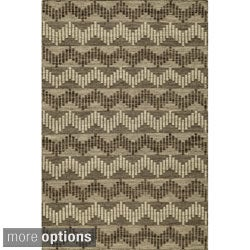Sorrel Reversible Indoor Wool Rug (8' x 10')