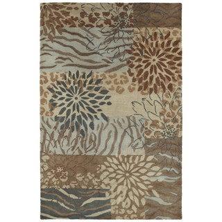Retreat Multi Hand Tufted Wool Rug (7'6 x 9'0)