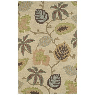 Retreat Multi Dahlia Hand Tufted Wool Rug (8'0 x 11'0)
