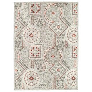 Felicity Grey Hand Tufted Wool Rug (9'6 x 13'0)