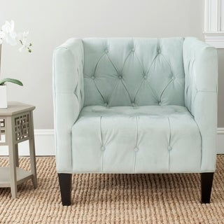Safavieh Glen Light Blue Club Chair