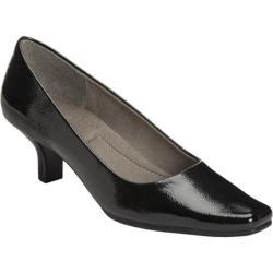 Women's A2 by Aerosoles Dimperial Black Patent