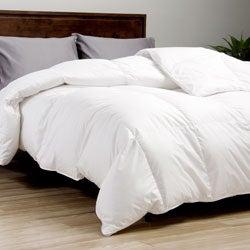 European Legacy 370 Thread Count Baffle Box White Down Comforter