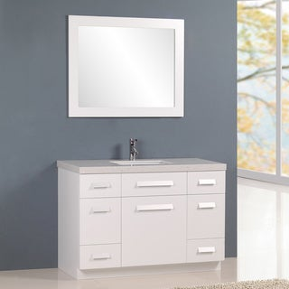 41 50 inches bathroom vanities overstock shopping for 50 inch double sink bathroom vanity