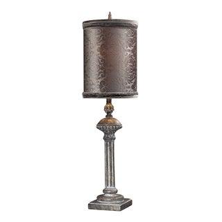 Dimond Lighting 1-Light Restoration Grey Finish Table Lamp