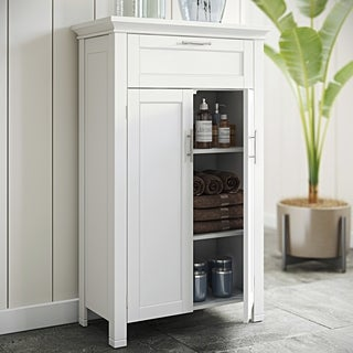 RiverRidge Somerset Two-Door White Floor Cabinet
