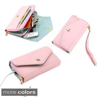 Gearonic Multifunctional Universal Wallet PU Leather Purse Case