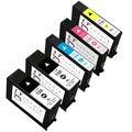 Sophia Global Lexmark 150XL Remanufactured Black, Cyan, Magenta, Yellow Ink Cartridges (Pack of 5)