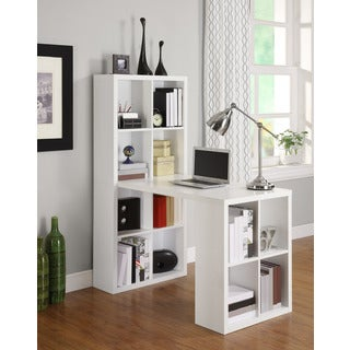 Altra White Hollow Core Hobby Desk