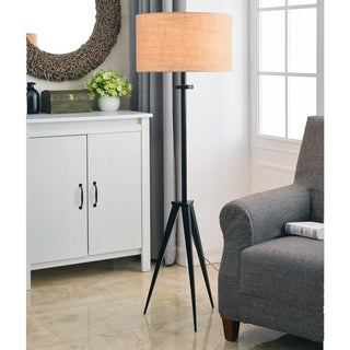 Caperana 1-light Oil Rubbed Bronze Floor Lamp