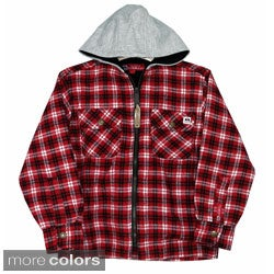 Farmall IH Junior Boys Thermal Lined Flannel Hoodie