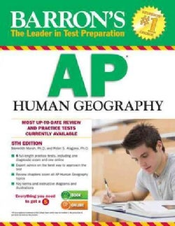 Barron's AP Human Geography (Paperback)