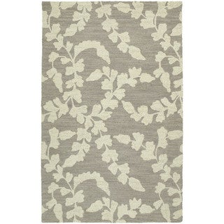 Zoe Grey Hand Tufted Wool Rug (9'0 x 12'0)