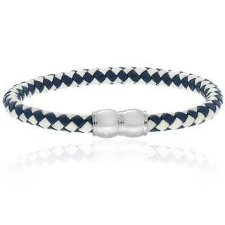 Gravity Men's Braided Leather Bracelet