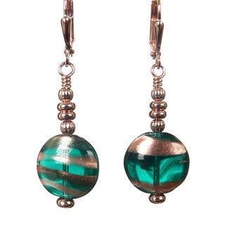 Palmtree Gems 'Hannah' Dangle Earrings