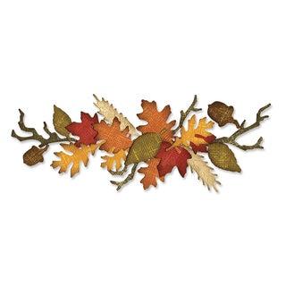 Sizzix Sizzlits Decorative Strip Autumn Gatherings Die
