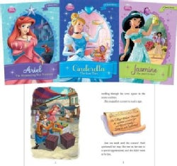 Disney Princess Set: Ariel, the Shimmering Star Necklace / Cinderella, the Lost Tera / Jasmine, the Jewel Orchard (Hardcover)
