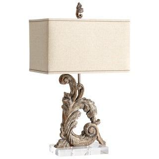 Cyan Design Posy Scroll 1-light Wooden Table Lamp