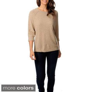 Ply Cashmere Women's Dolman Sleeve Sweater