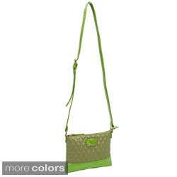 Parinda Cara Quilted Faux Leather Crossbody Bag