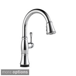 Delta Cassidy Single Handle Pull-Down Kitchen Faucet with Touch2O? Technology