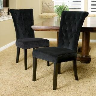 Christopher Knight Home Venetian Velvet Dining Chair (Set of 2)