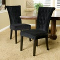 Christopher Knight Home Venetian Velvet Dining Chair (Set of 2)