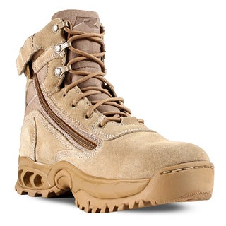Desert Storm Men's Sand Suede and Nylon Work Boots