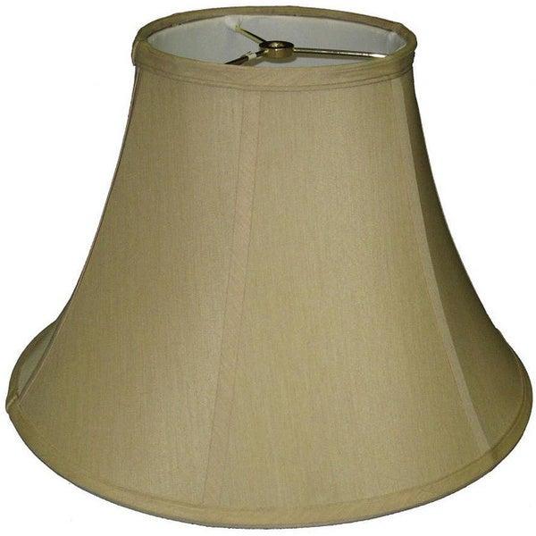 Khaki Fabric Bell Lamp Shade
