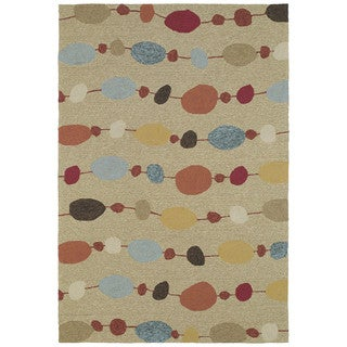 Seaside Partytime Indoor/ Outdoor Rug (9' x 12')