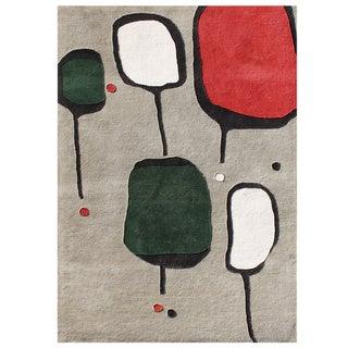 Alliyah Handmade Gray Morn New Zealand Blend Wool Rug (8' x 10')