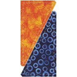 Go! Fabric Cutting Die - Half Rectangle Triangle -3 X6