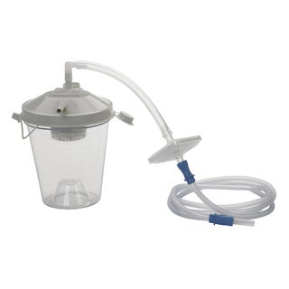 Drive Medical Universal Suction Machine Tubing Canister and Filter Replacement Kit