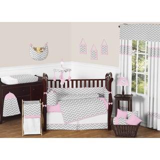 Sweet JoJo Designs Zig Zag 9-piece Crib Bedding Set