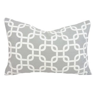 Taylor Marie Lumbar Chain Link Throw Pillow Cover