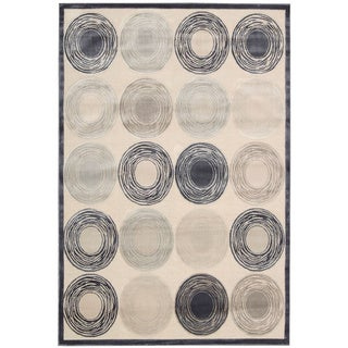 kathy ireland by Nourison Bel Air Ivory Rug (9' x 12')